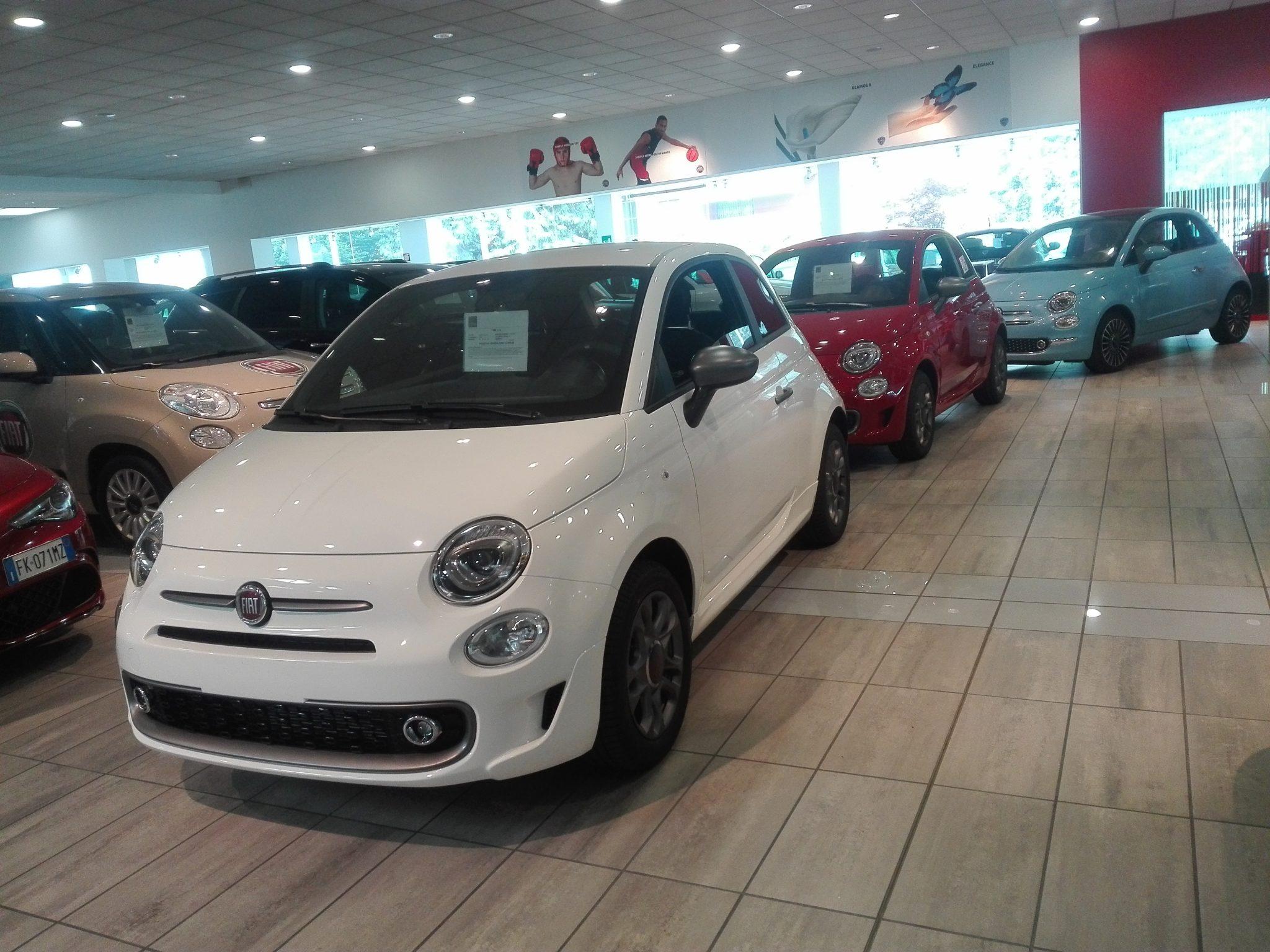 vendita auto concessionario FIAT