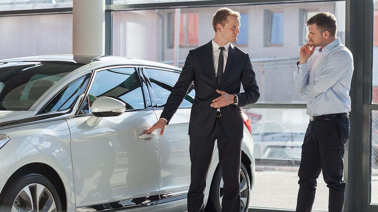 vendita auto in concessionario