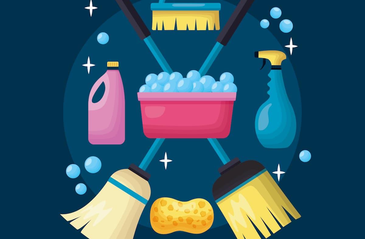 Corso di pulizie domestiche per scansafatiche inesperti nel campo thumbnail