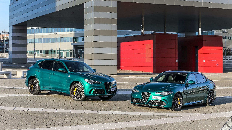 Alfa Romeo Giulia e Stelvio Quadrifoglio ricevono un'iniezione di tecnologia thumbnail