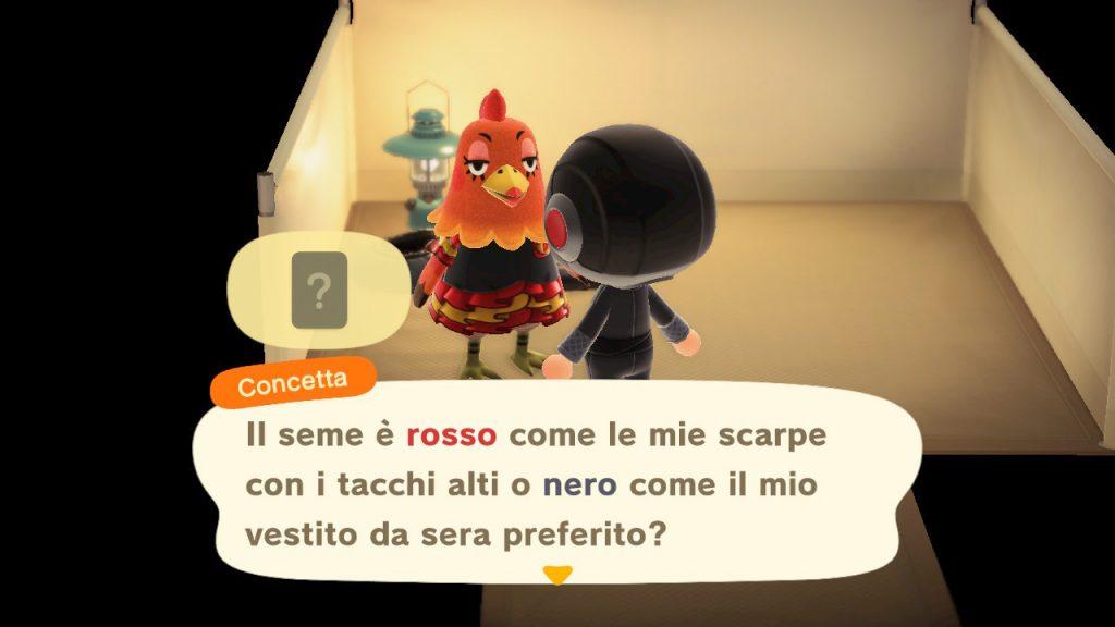 Animal Crossing New Horizons cacciare abitante copertina gioco campeggio
