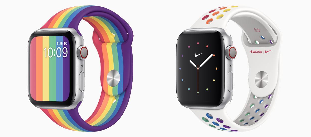 I cinturini Apple Watch Pride Edition di quest'anno vedono anche la collaborazione di Nike thumbnail