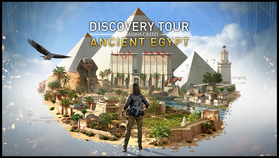Ubisoft regala dei tour virtuali in Grecia ed Egitto thumbnail