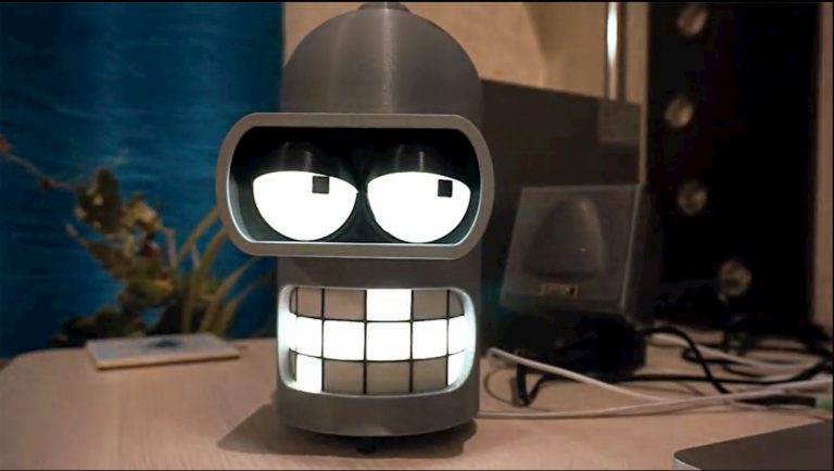 Bender Futurama Smart Speaker