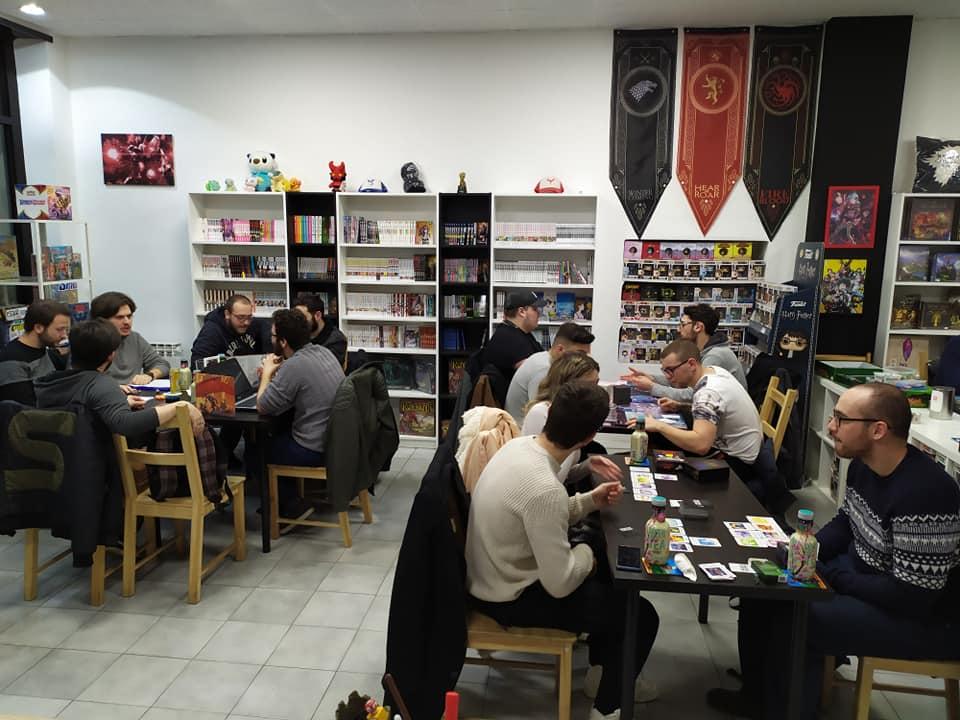 Comic Lab Game Cafè locale