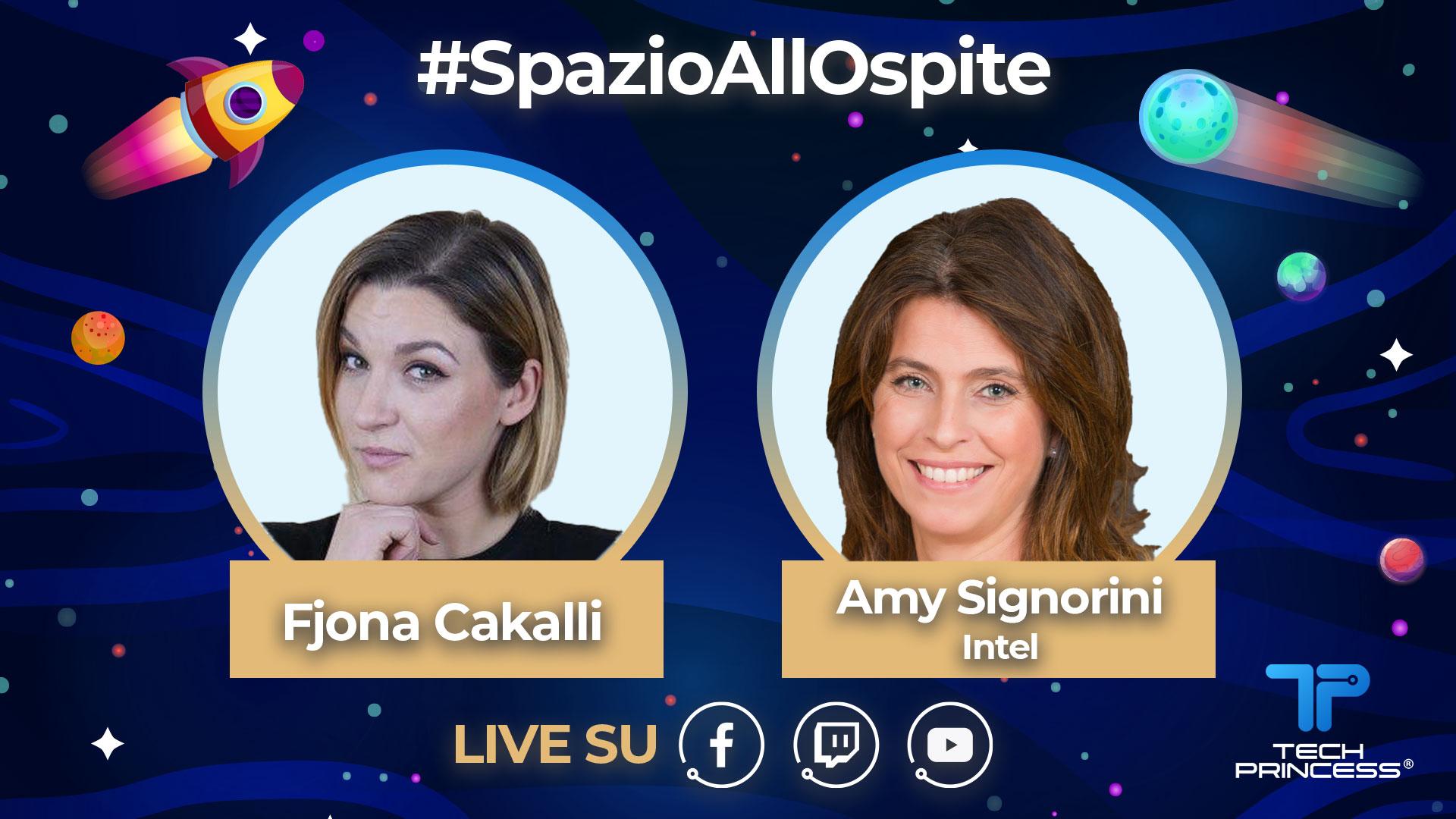 Amy Signorini, Intel: intervista in diretta giovedì 28 maggio ore 18.30 | #SpazioAllOspite thumbnail