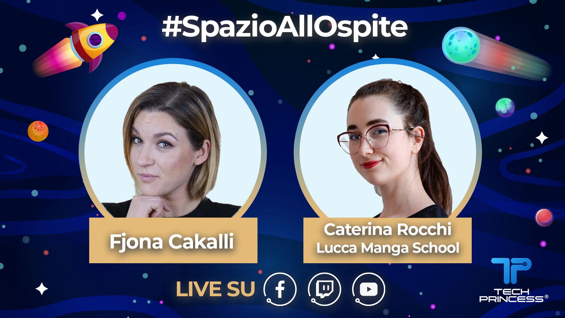 Caterina Rocchi, Lucca Manga School: intervista in diretta giovedì 21 maggio ore 18.30 | #SpazioAllOspite thumbnail