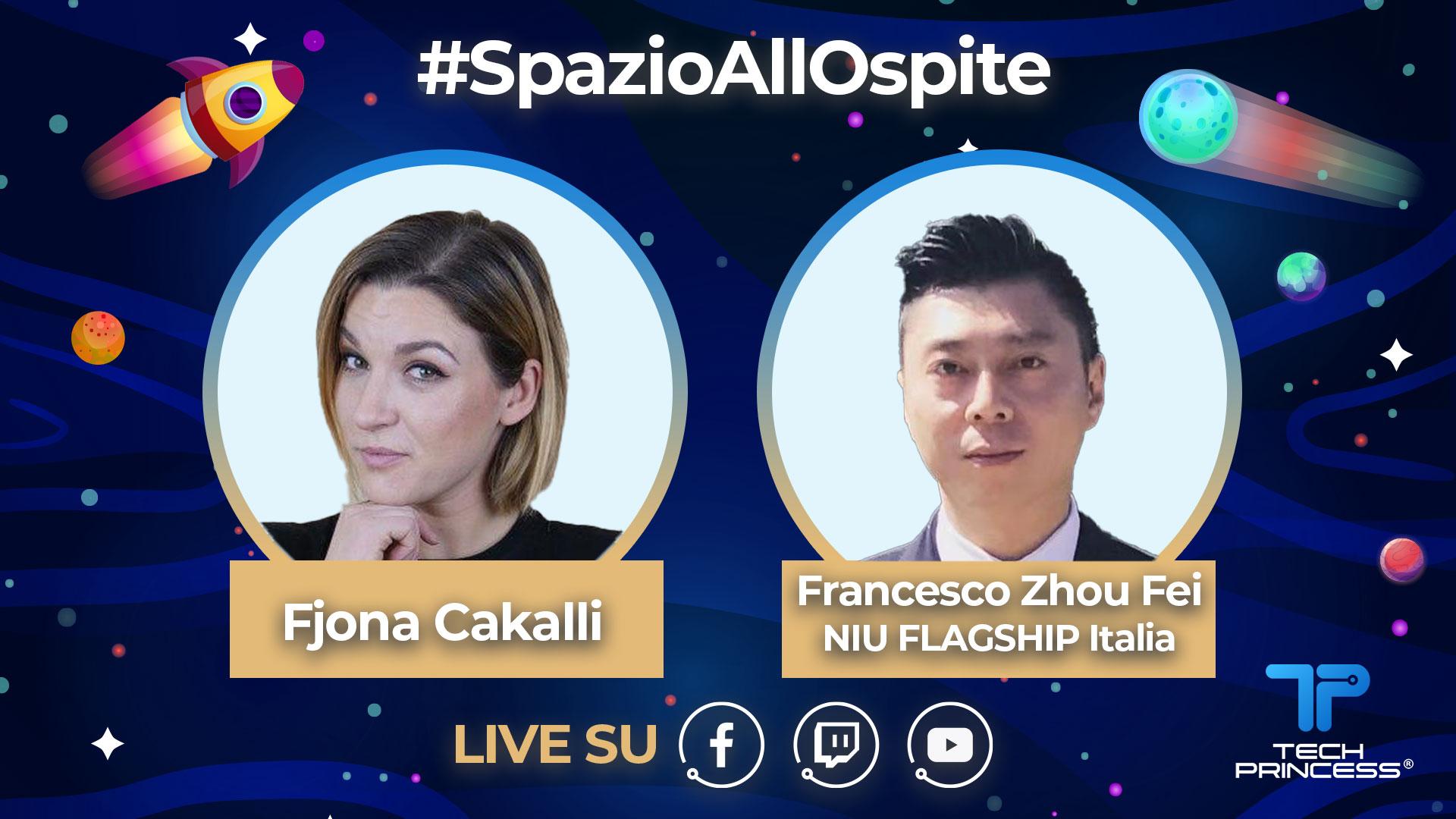 Francesco Zhou, MiStore e NIU: intervista in diretta giovedì 14 maggio ore 18.30 | #SpazioaAlloOspite thumbnail