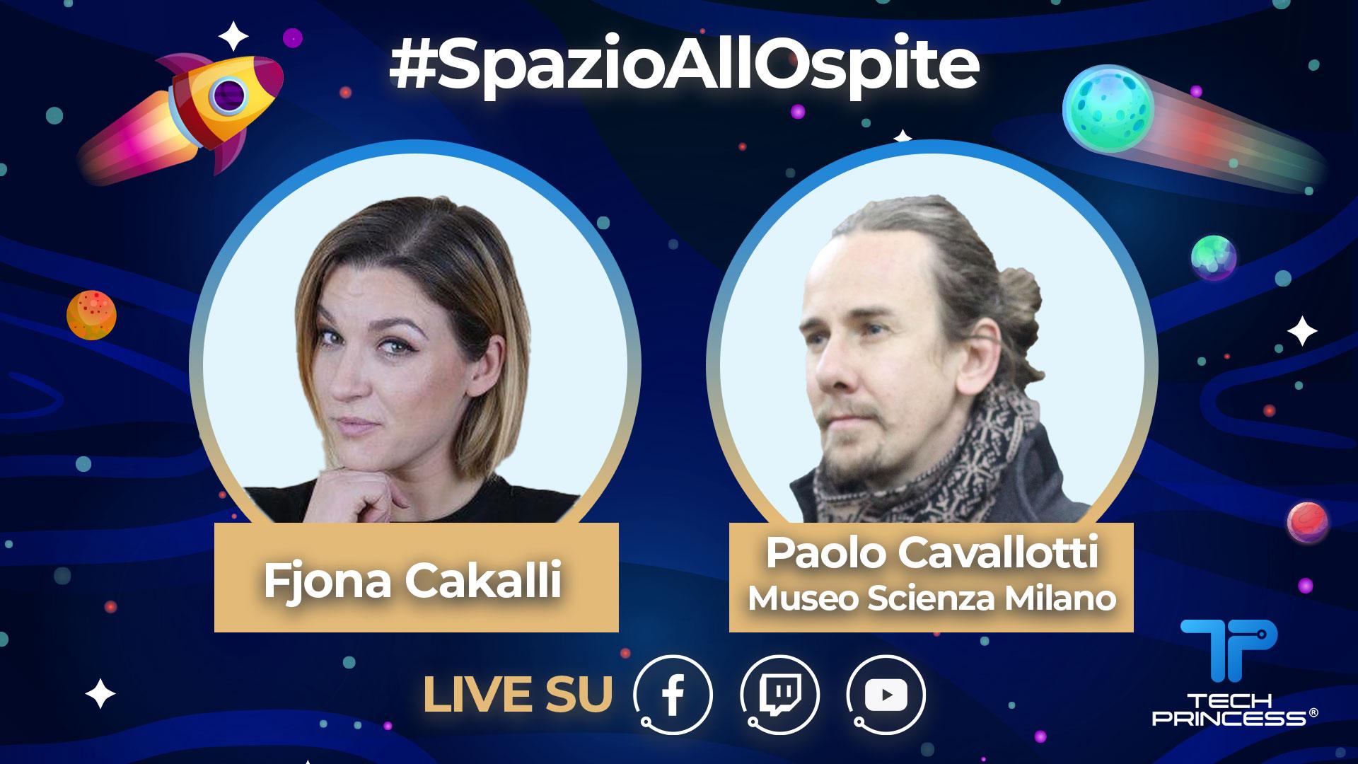 Paolo Cavallotti, Museo Scienza e Tecnologia Milano: intervista in diretta martedì 5 maggio ore 18.30 | #SpazioAllOspite thumbnail
