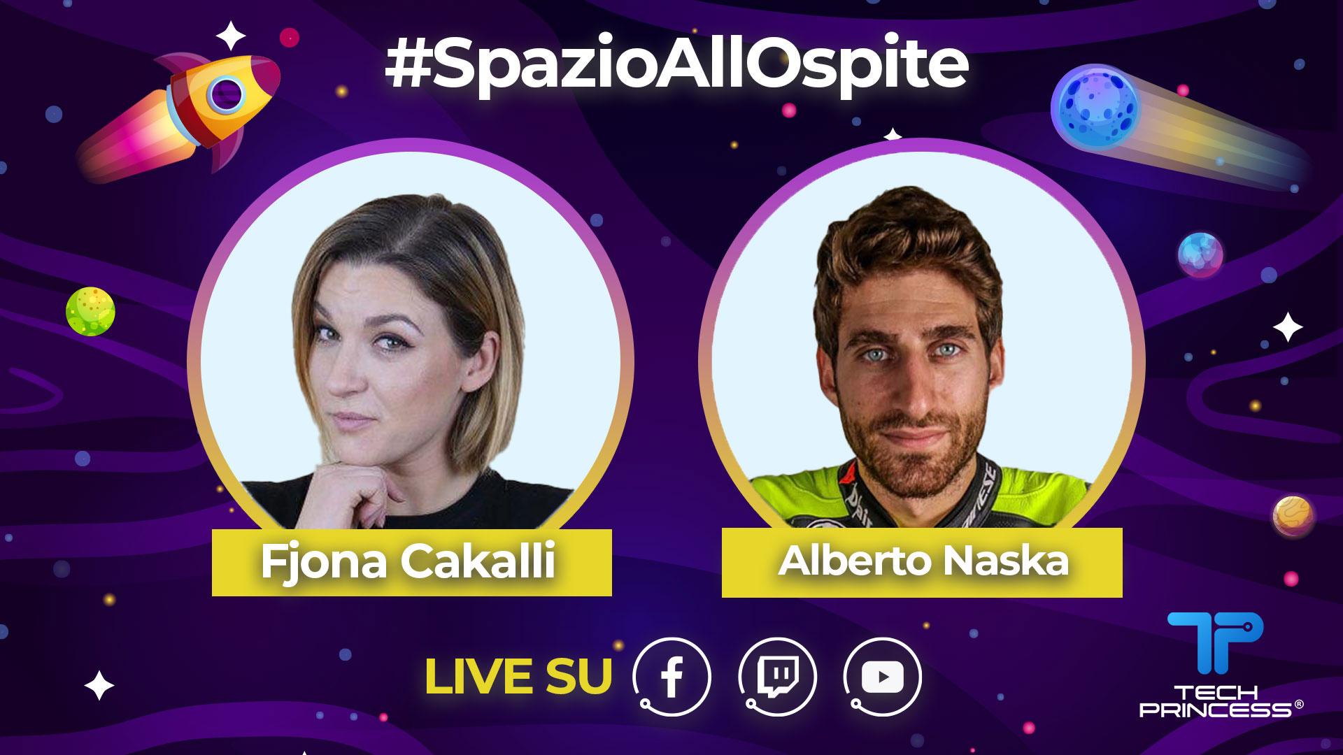 Alberto Naska: intervista in diretta mercoledì 13 maggio ore 18.30 | #SpazioaAllOspite thumbnail