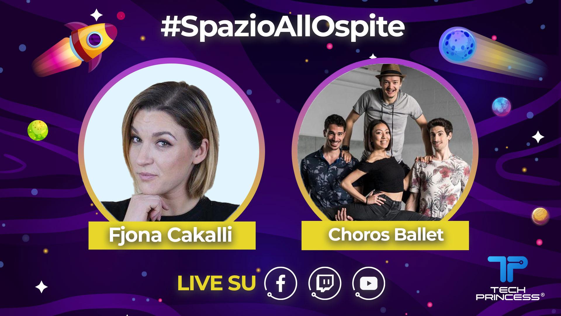 Choros Ballet: intervista in diretta mercoledì 20 maggio ore 18.30 | #SpazioAllOspite thumbnail