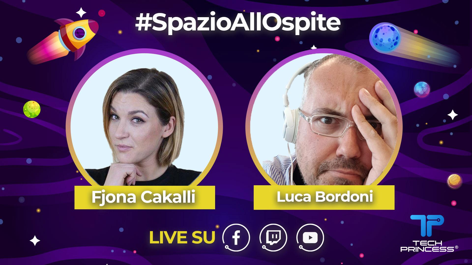 Luca Bordoni: intervista in diretta mercoledì 27 maggio ore 18.30 | #SpazioAllOspite thumbnail