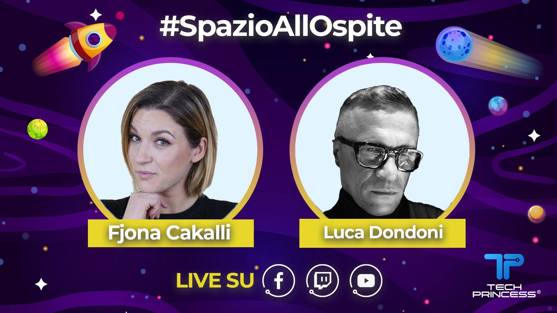 Luca Dondoni: intervista in diretta venerdì 22 maggio ore 18.30 | #SpazioAllOspite thumbnail
