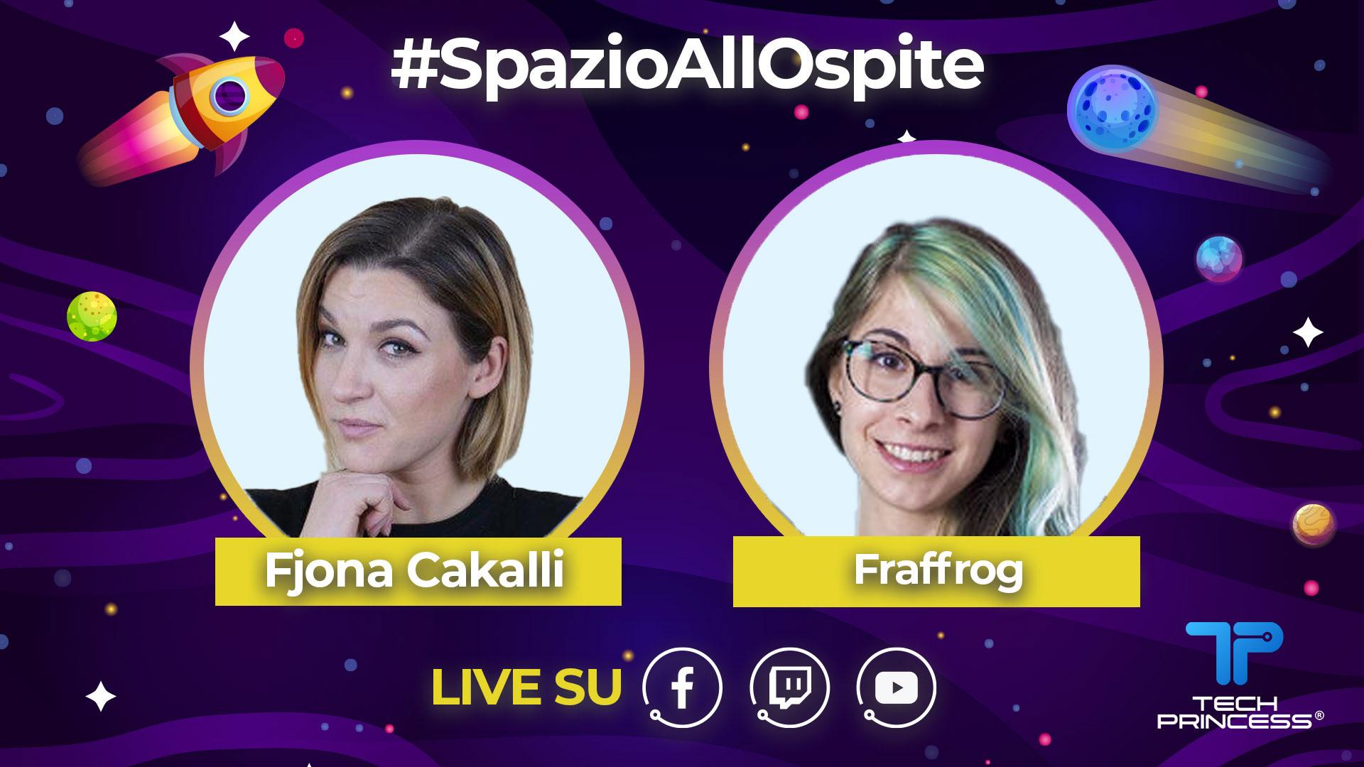 Fraffrog: intervista in diretta mercoledì 6 maggio ore 18.30 | #SpazioAllOspite thumbnail