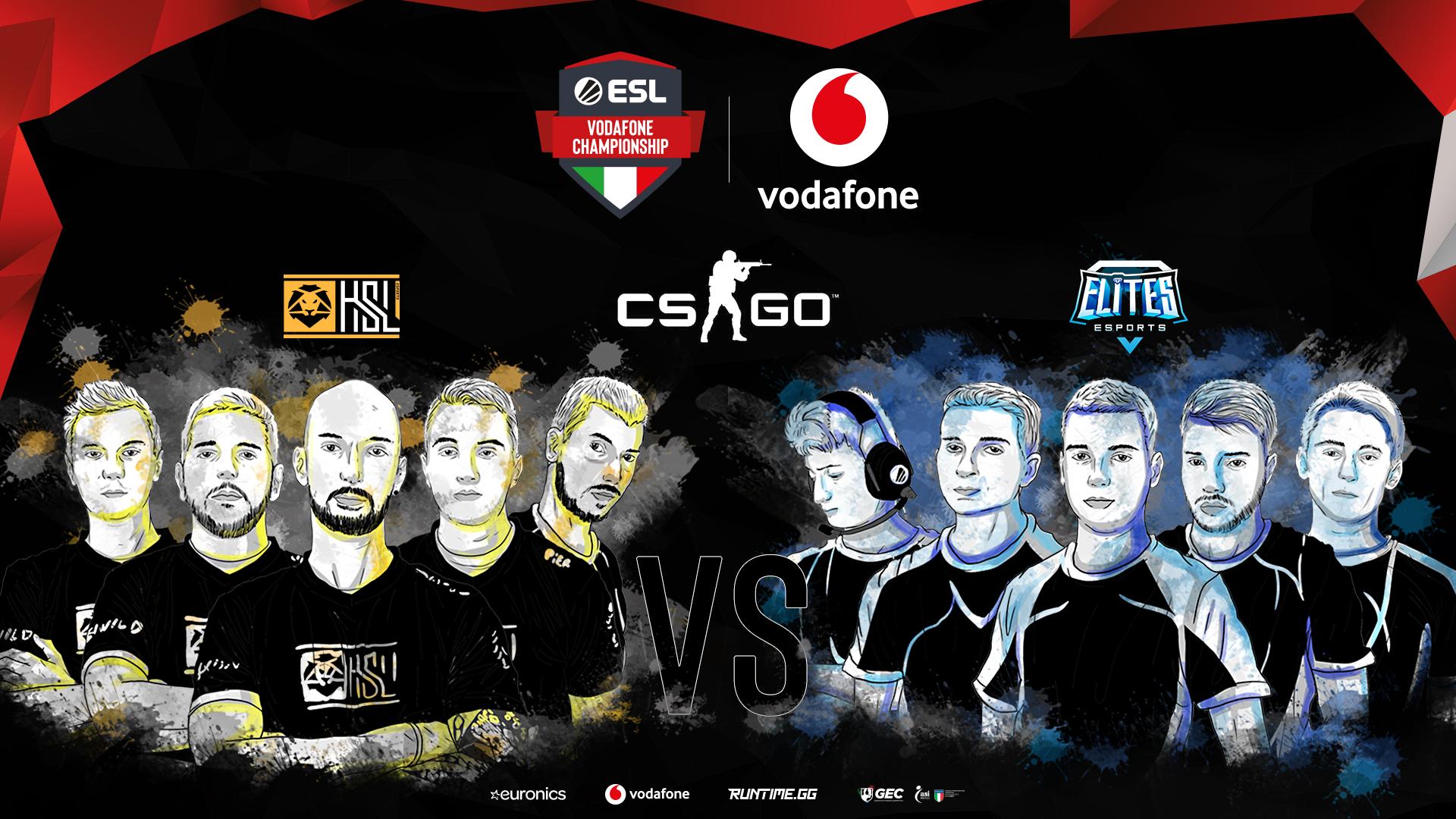 Annunciato il campione italiano di CS:GO dell'ESL Vodafone Championship thumbnail