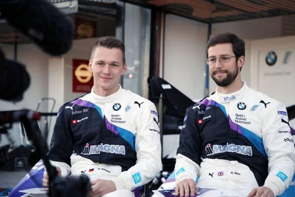 Formule E: due piloti BMW raccontano la loro nuova vita da Sim Racers thumbnail