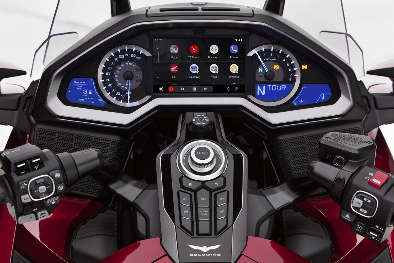 Honda porta Android Auto...sulle moto thumbnail