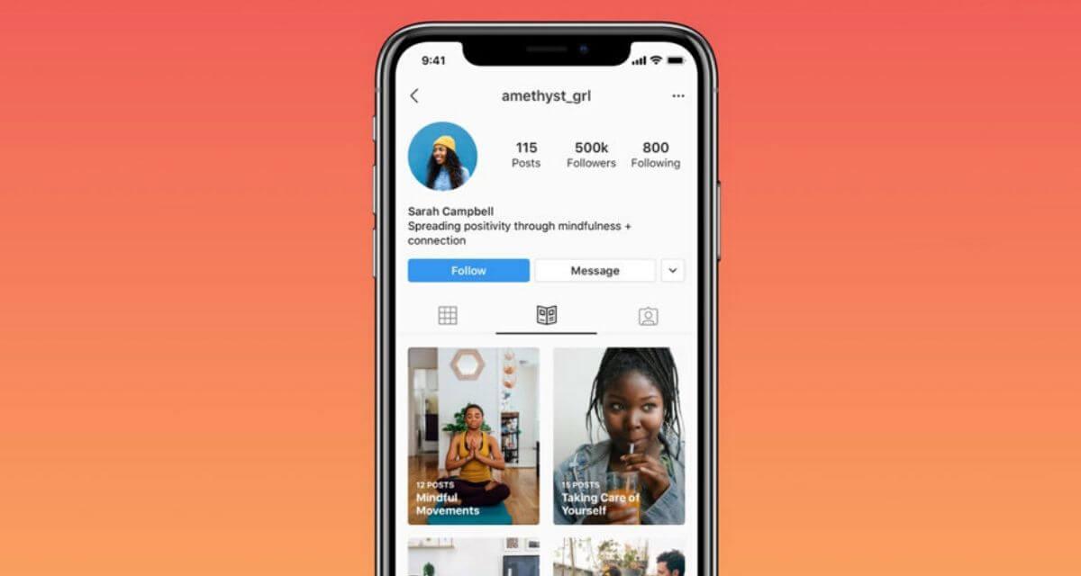 Instagram lancia Guide, il servizio di consigli sul benessere thumbnail