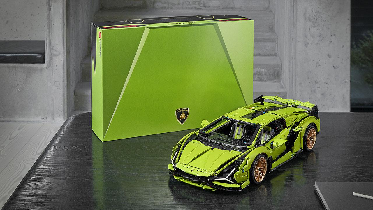 LEGO Lamborghini Sián confezione scatola