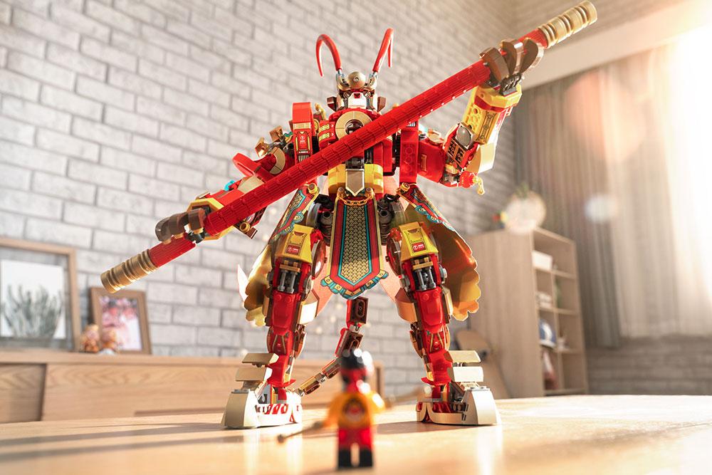 LEGO Monkie Kid set