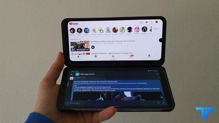 LG V60 ThinQ 5G recensione Dual Screen