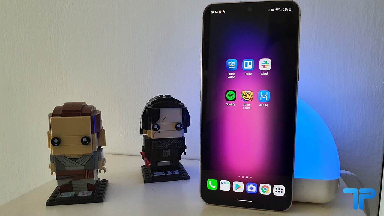 LG V60 ThinQ 5G recensione display