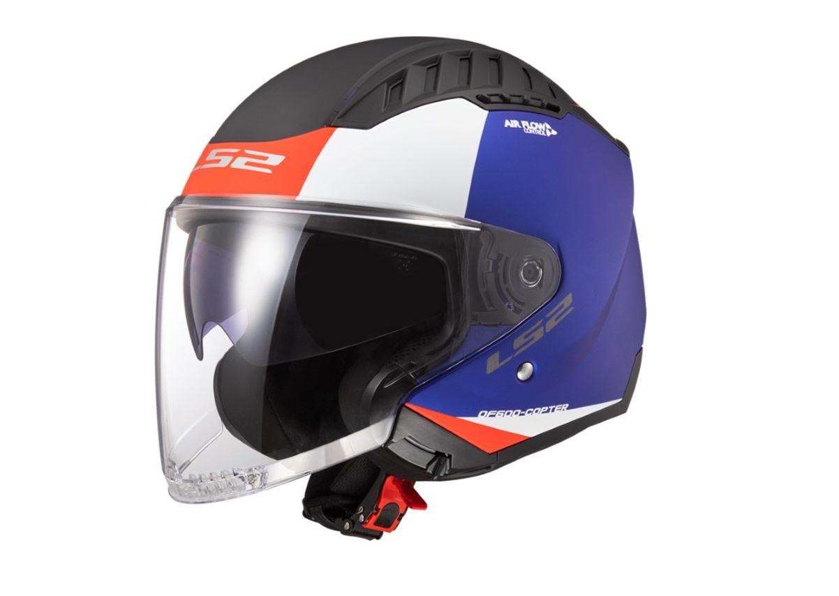 LS2 Helmet Copter, arriva il casco jet super leggero thumbnail