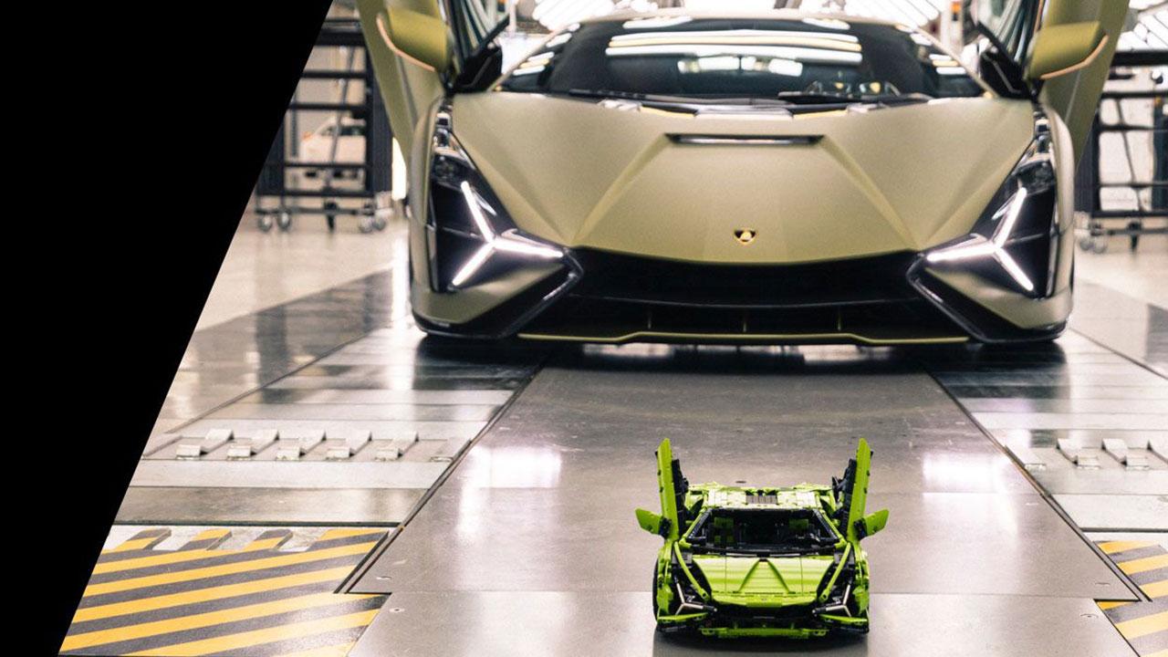 LEGO Lamborghini Sián collaborazione