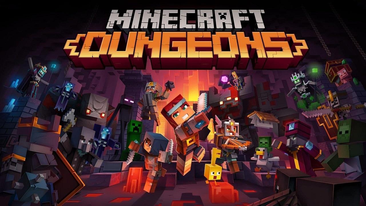 Minecraft Dungeons recensione microsoft