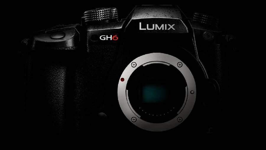 Panasonic Lumix GH6 rendering