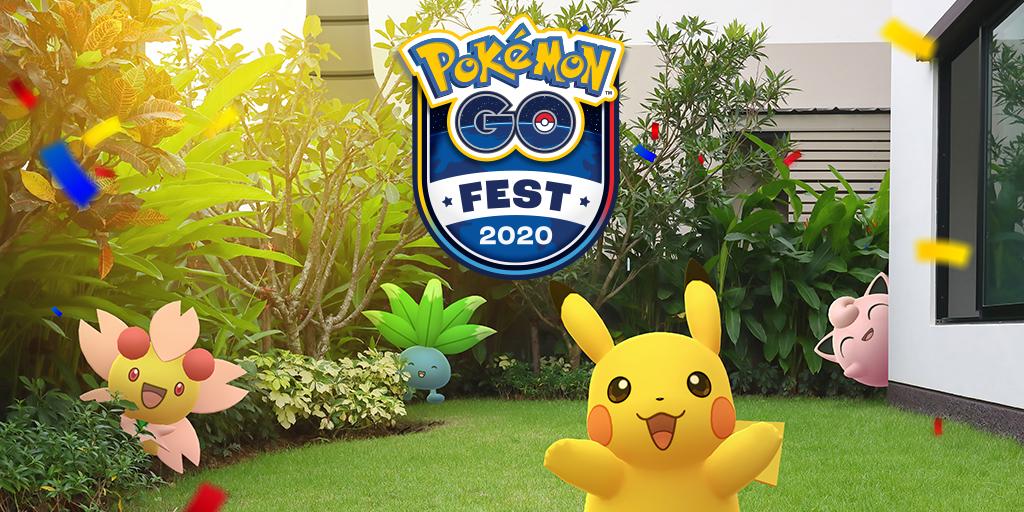 Pokémon Go Fest 2020 diventa un evento virtuale aperto a tutti thumbnail