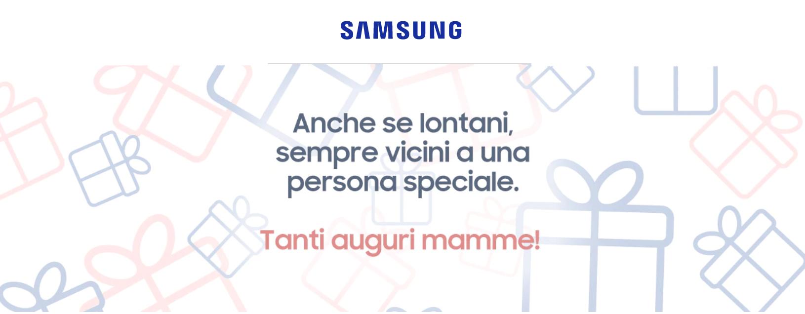 Regali festa della mamma Samsung: tante offerte nello shop online thumbnail