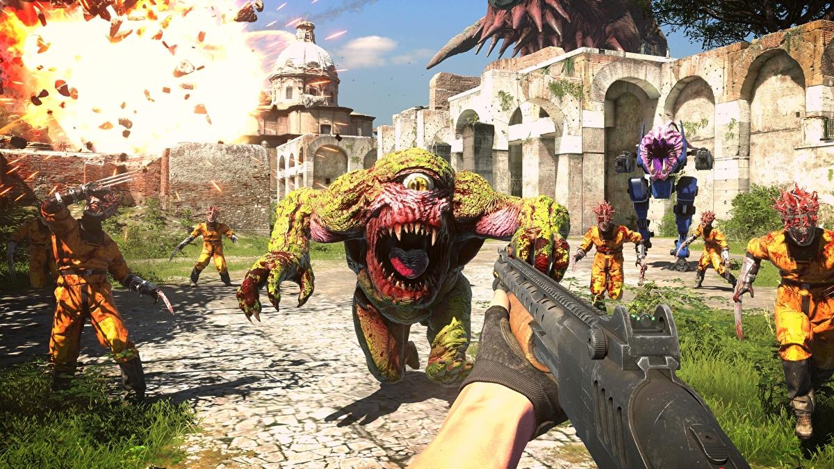 Serious Sam 4 sarà un'esclusiva di Google Stadia e PC fino al 2021 thumbnail