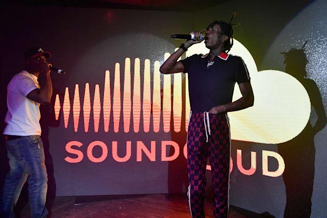 SoundCloud musica live Twitch