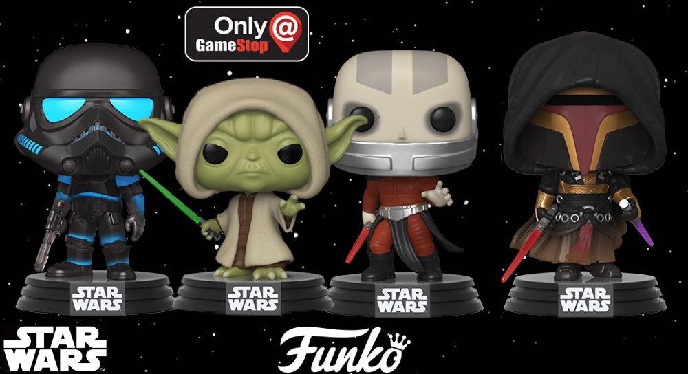 Star Wars, in arrivo nuovi Funko Pop della Vecchia Repubblica thumbnail