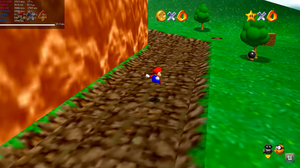 Un fan porta Super Mario 64 su PC in 4K nativo thumbnail