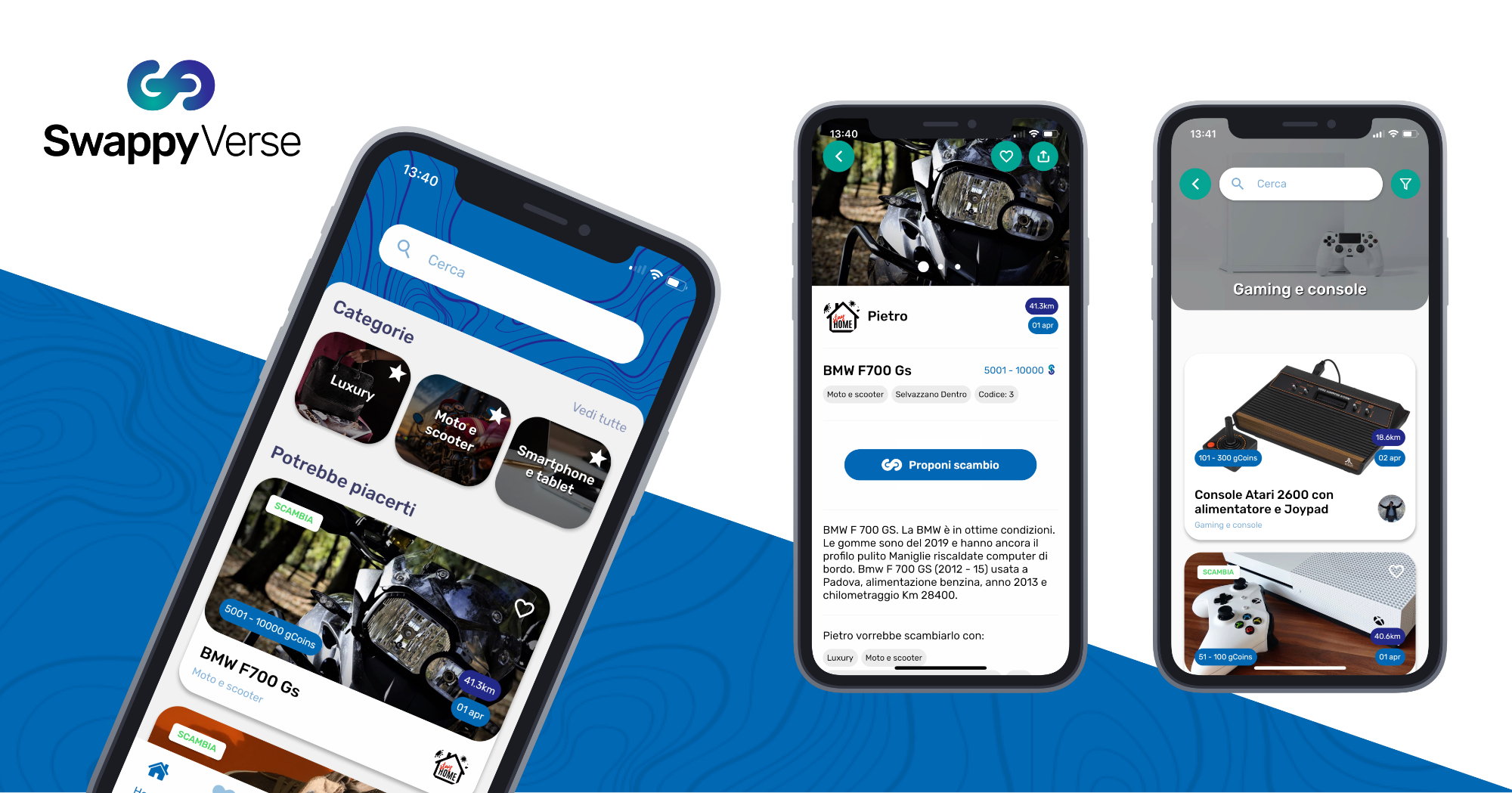 SwappyVerse è la nuova app per lo scambio degli oggetti col cellulare thumbnail