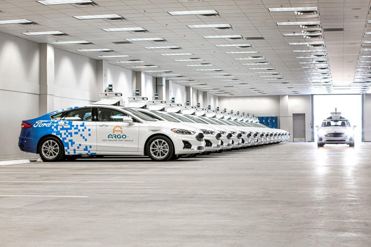 Taxi autonomi Ford Argo Ai