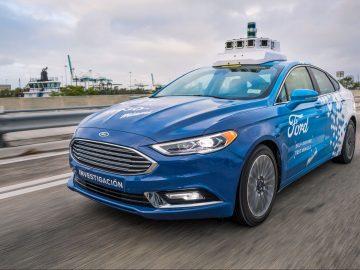 Taxi autonomi Ford copertina 1