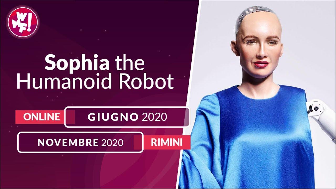 Il Robot Sophia al Festival sull'Innovazione Digitale thumbnail