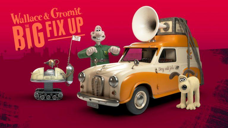 Wallace Gromit gioco realtà aumentata The Big Fix Up