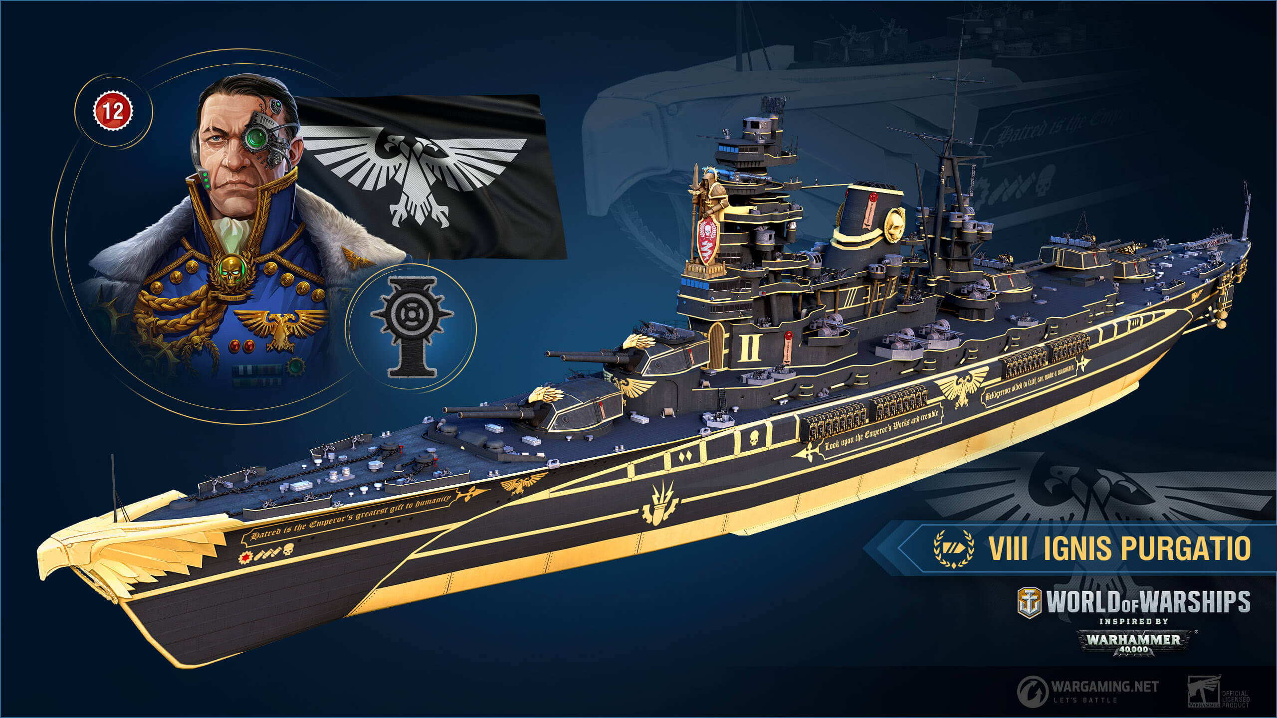 In arrivo l'invasione di Warhammer 40.000 nel mondo di World of Warships thumbnail
