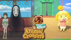 Animal Crossing incontra lo Studio Ghibli Un utente ha ricreato alcune scene del film La città incantata