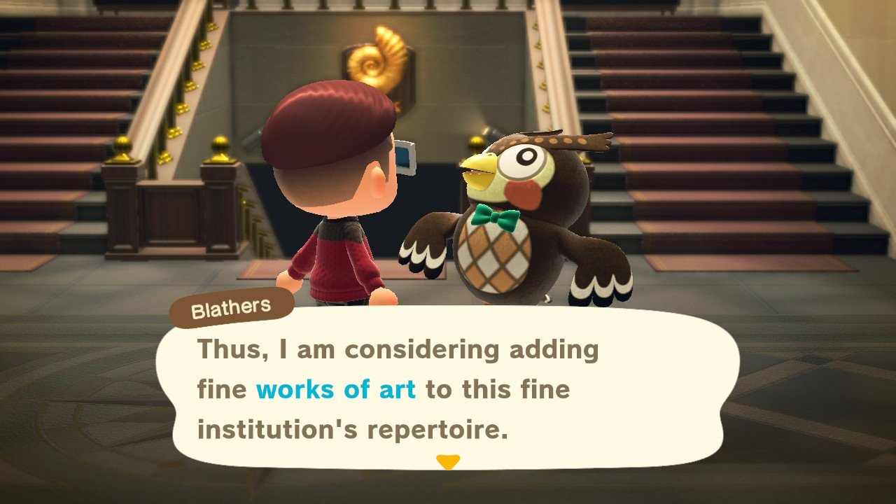 Leonardo da Vinci nel museo di Animal Crossing thumbnail