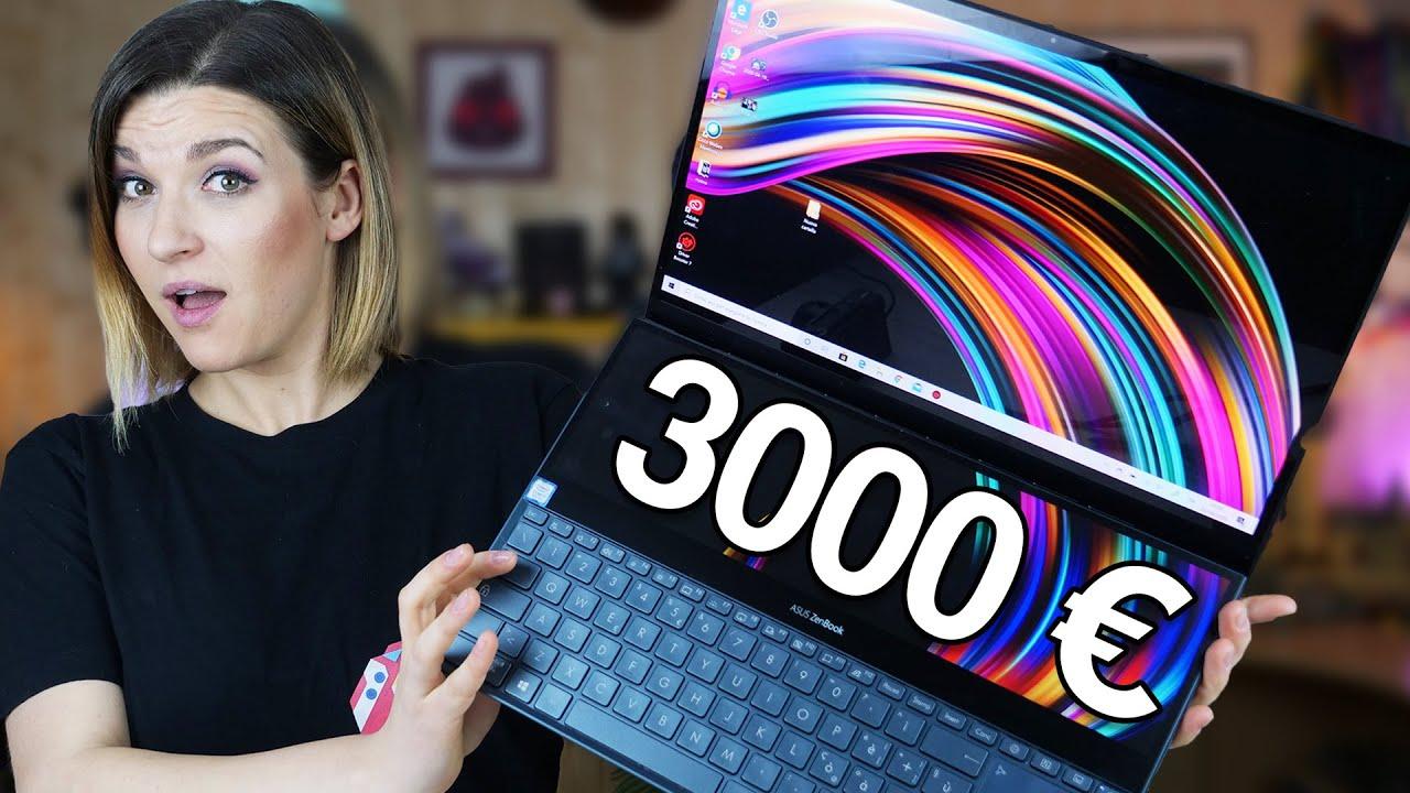 Asus Zenbook Pro Duo recensione: il super computer da 2.999 euro thumbnail