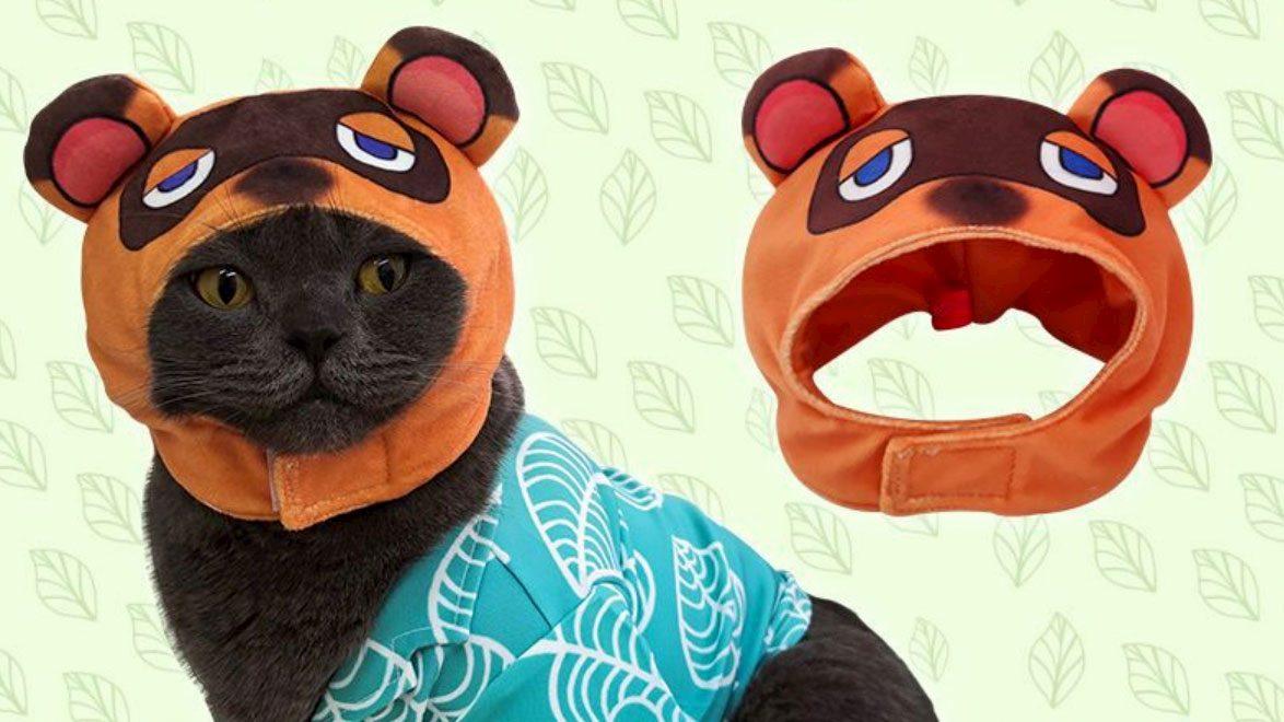 Ora anche il tuo gatto (volente o nolente) può travestirsi da Tom Nook thumbnail