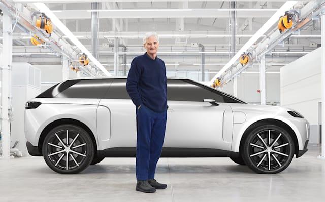 Dyson svela la sua auto elettrica che non si farà thumbnail
