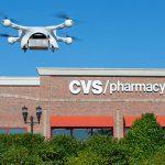 droni per le consegne UPS CVS