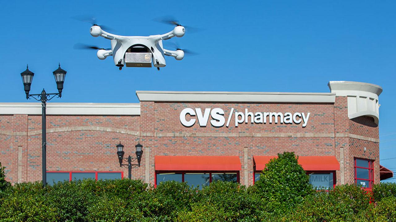 UPS utilizza i droni per consegnare medicinali ai pensionati thumbnail