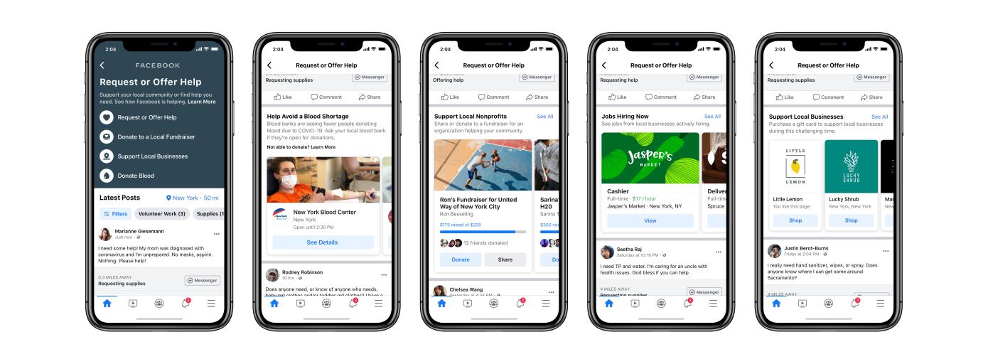 Facebook si adopera introducendo buoni regalo e strumenti per il lavoro thumbnail